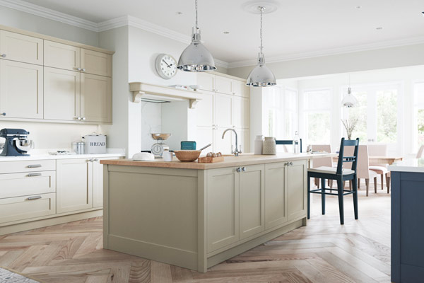 Classic Painted Shaker Kitchens London.