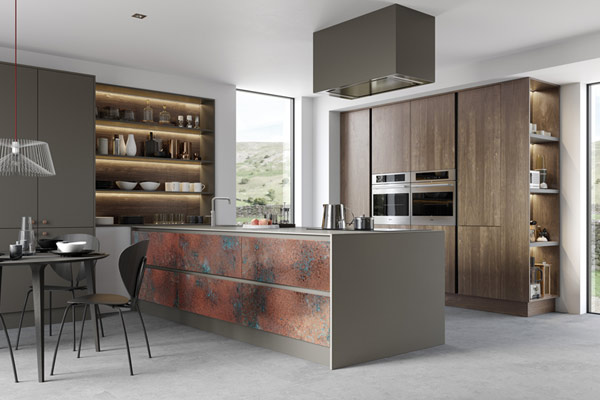 Metal Kitchens in London. Unique Metal Finishes.