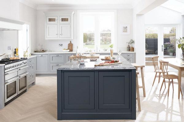 Ovalo Inframe Kitchens London.