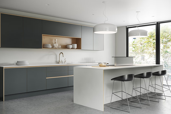 Plywood Kitchens London