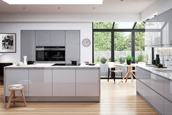 Savannah J-Pull High Gloss Kitchens London