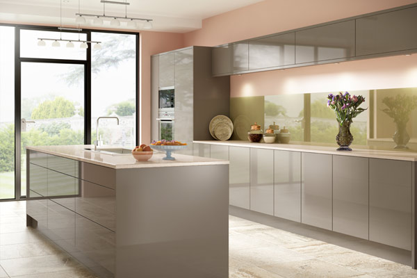 Zina Acrylic High Gloss Kitchens London