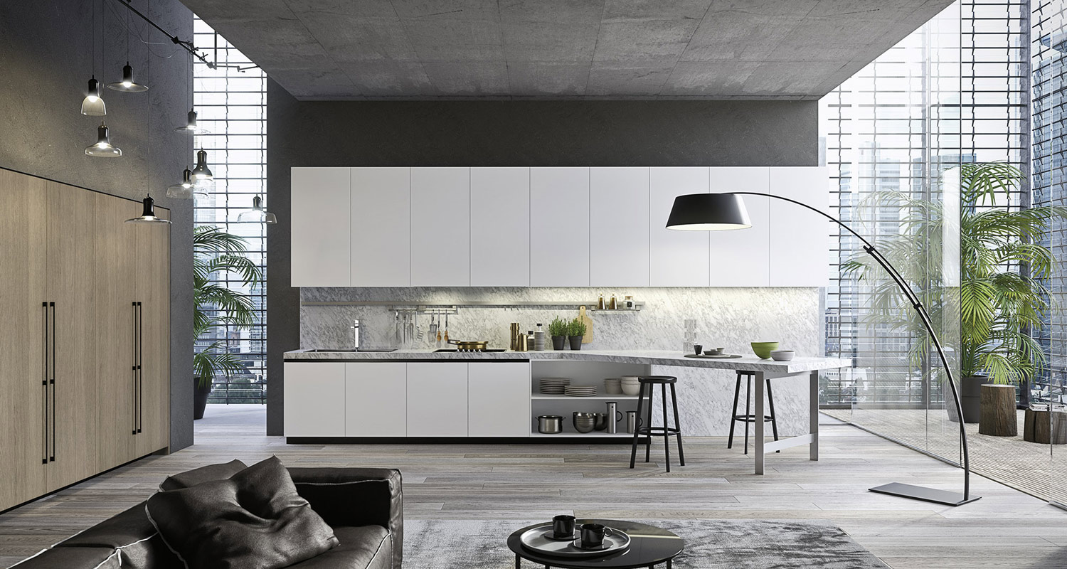 Handleless Modern Kitchens in London - Made to Measure