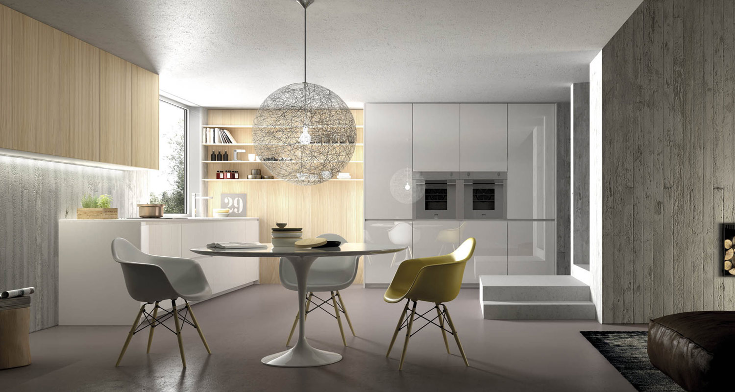 High Gloss Lacquered Kitchens in London.