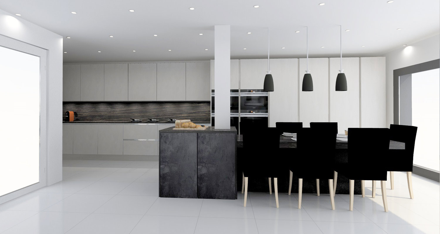 Kitchen Design Service in London.