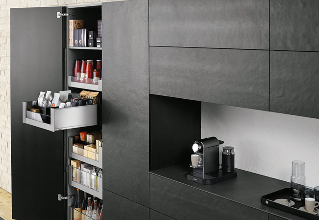 Kitchen Units in London - Hettich and Blum