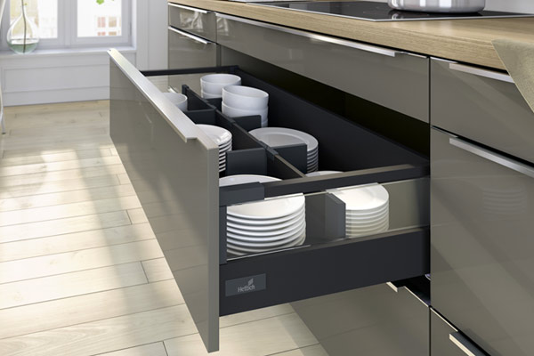 Kitchen Units with Hettich Drawers