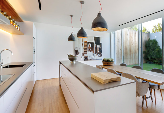 Kitchen Worktops London - Quartz, Corian & Neolith