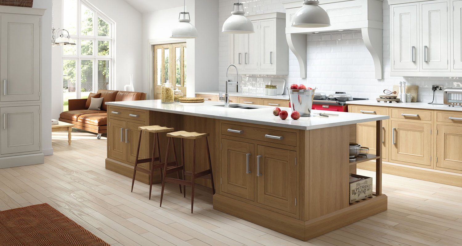 Traditional Inframe and Shaker Kitchens in London.