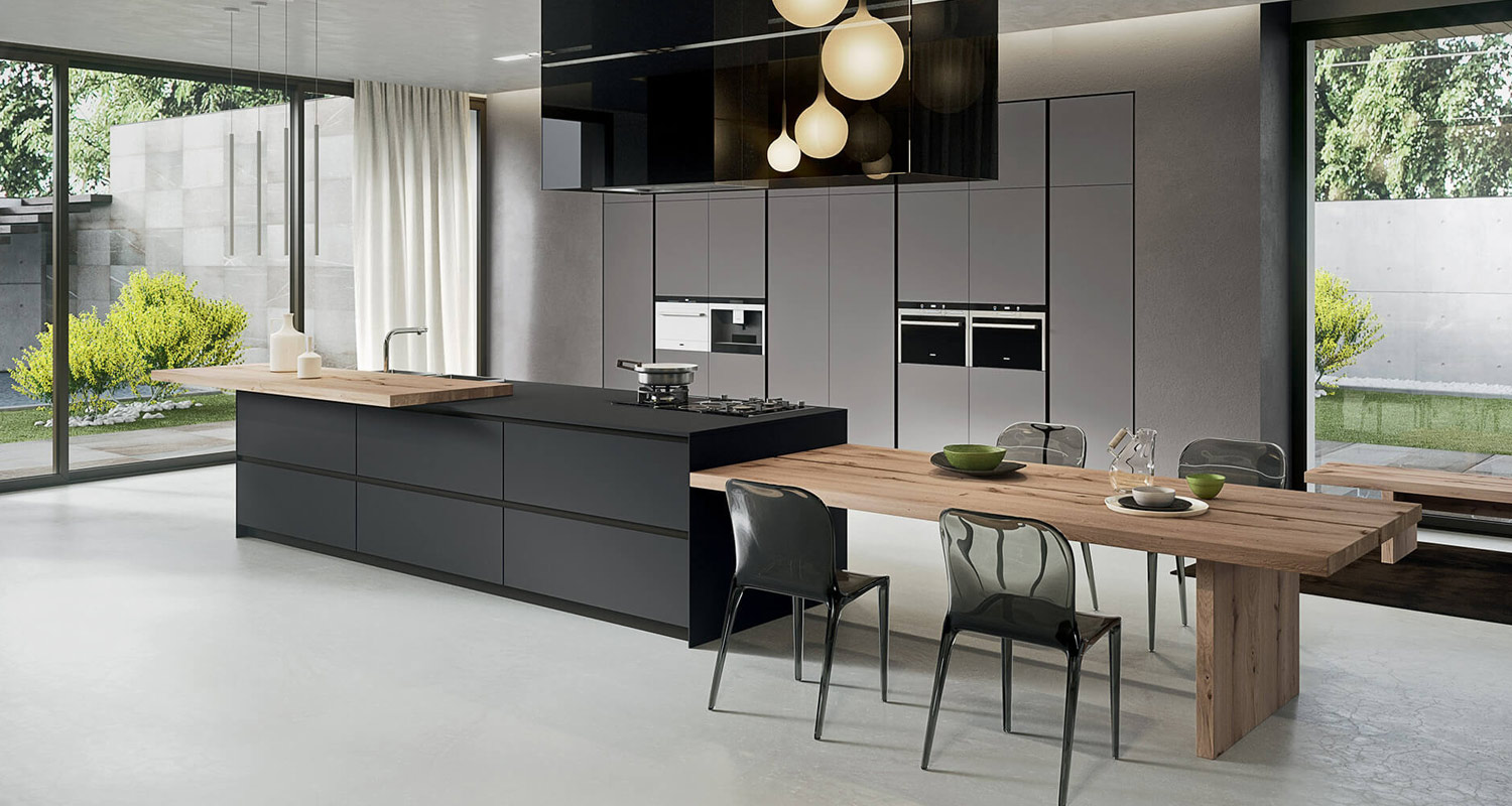 Ultra Modern Contemporary Handleless Kitchens in London